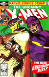 Cover for The Uncanny X-Men (Marvel, 1981 series) #142