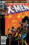 Cover for The Uncanny X-Men (Marvel, 1981 series) #159 [Newsstand]