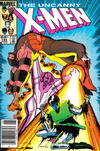 Cover Thumbnail for The Uncanny X-Men (1981 series) #194 [Newsstand Edition]