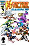 Cover for X-Factor (Marvel, 1986 series) #5 [Direct]