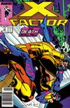 Cover Thumbnail for X-Factor (1986 series) #34 [Newsstand Edition]