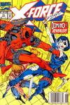 Cover for X-Force (Marvel, 1991 series) #11 [Newsstand]