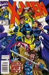 Cover Thumbnail for X-Men (1991 series) #20 [Newsstand Edition]