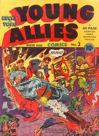 Cover Thumbnail for Young Allies (Marvel, 1941 series) #2