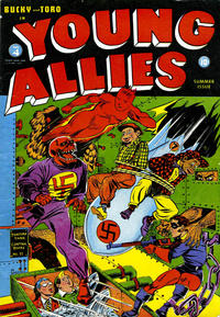 Cover Thumbnail for Young Allies (Marvel, 1941 series) #4