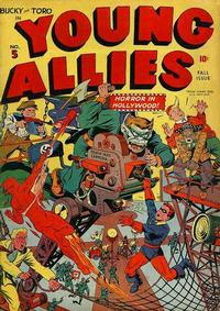 Cover Thumbnail for Young Allies (Marvel, 1941 series) #5