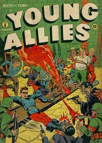 Cover Thumbnail for Young Allies (Marvel, 1941 series) #6