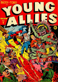 Cover Thumbnail for Young Allies (Marvel, 1941 series) #9