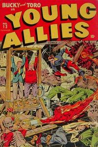 Cover Thumbnail for Young Allies (Marvel, 1941 series) #13
