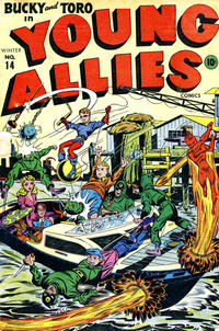 Cover Thumbnail for Young Allies (Marvel, 1941 series) #14