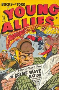 Cover Thumbnail for Young Allies (Marvel, 1941 series) #20