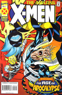 Cover Thumbnail for Amazing X-Men (Marvel, 1995 series) #2 [Direct Edition]