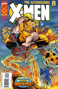 Cover Thumbnail for Astonishing X-Men (Marvel, 1995 series) #2