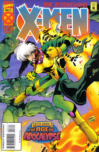 Cover Thumbnail for Astonishing X-Men (Marvel, 1995 series) #3