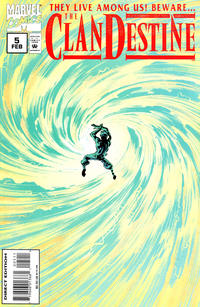 Cover Thumbnail for ClanDestine (Marvel, 1994 series) #5