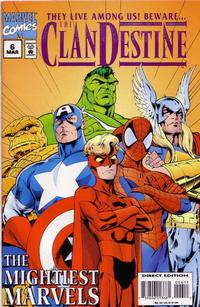 Cover Thumbnail for ClanDestine (Marvel, 1994 series) #6