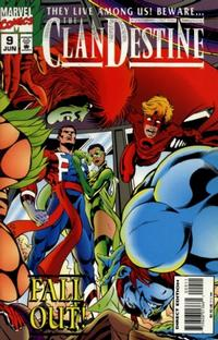 Cover Thumbnail for ClanDestine (Marvel, 1994 series) #9