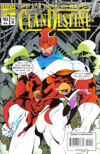 Cover Thumbnail for ClanDestine (Marvel, 1994 series) #10
