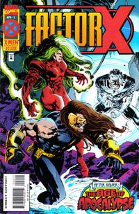 Cover Thumbnail for Factor X (Marvel, 1995 series) #2 [Direct Edition]