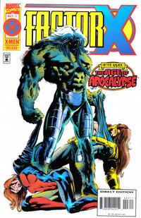 Cover Thumbnail for Factor X (Marvel, 1995 series) #3 [Direct Edition]