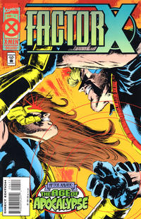 Cover Thumbnail for Factor X (Marvel, 1995 series) #4 [Direct Edition]