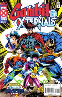 Cover Thumbnail for Gambit & The X-Ternals (Marvel, 1995 series) #1 [Direct Edition]
