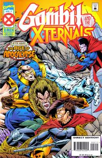 Cover Thumbnail for Gambit & The X-Ternals (Marvel, 1995 series) #2 [Direct Edition]