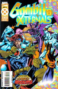 Cover Thumbnail for Gambit & The X-Ternals (Marvel, 1995 series) #3 [Direct Edition]