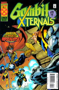 Cover Thumbnail for Gambit & The X-Ternals (Marvel, 1995 series) #4 [Direct Edition]
