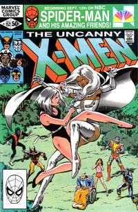 Cover Thumbnail for The Uncanny X-Men (Marvel, 1981 series) #152 [Direct]