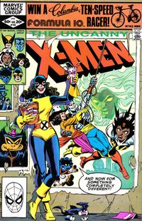 Cover Thumbnail for The Uncanny X-Men (Marvel, 1981 series) #153 [Direct]