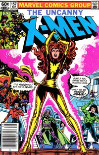 Cover Thumbnail for The Uncanny X-Men (Marvel, 1981 series) #157 [Newsstand]