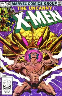 Cover Thumbnail for The Uncanny X-Men (Marvel, 1981 series) #162 [Direct]