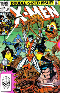 Cover Thumbnail for The Uncanny X-Men (Marvel, 1981 series) #166 [Direct]