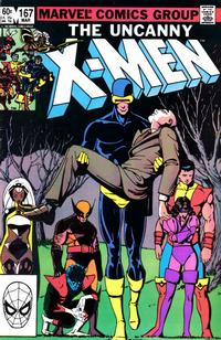 Cover Thumbnail for The Uncanny X-Men (Marvel, 1981 series) #167 [Direct Edition]