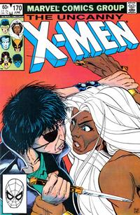 Cover Thumbnail for The Uncanny X-Men (Marvel, 1981 series) #170 [Direct Edition]