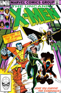 Cover Thumbnail for The Uncanny X-Men (Marvel, 1981 series) #171 [Direct Edition]