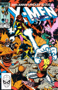 Cover Thumbnail for The Uncanny X-Men (Marvel, 1981 series) #175 [Direct Edition]