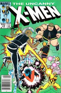 Cover Thumbnail for The Uncanny X-Men (Marvel, 1981 series) #178 [Newsstand Edition]