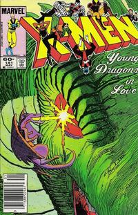 Cover Thumbnail for The Uncanny X-Men (Marvel, 1981 series) #181 [Newsstand Edition]