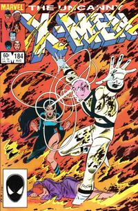 Cover Thumbnail for The Uncanny X-Men (Marvel, 1981 series) #184 [Direct Edition]