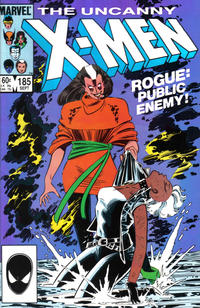 Cover Thumbnail for The Uncanny X-Men (Marvel, 1981 series) #185 [Direct Edition]