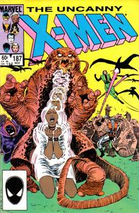 Cover Thumbnail for The Uncanny X-Men (Marvel, 1981 series) #187 [Direct]