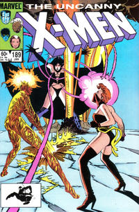 Cover Thumbnail for The Uncanny X-Men (Marvel, 1981 series) #189