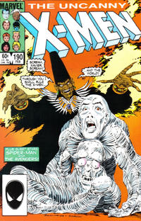 Cover Thumbnail for The Uncanny X-Men (Marvel, 1981 series) #190 [Direct Edition]