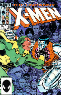 Cover Thumbnail for The Uncanny X-Men (Marvel, 1981 series) #191 [Direct Edition]