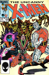 Cover Thumbnail for The Uncanny X-Men (Marvel, 1981 series) #192