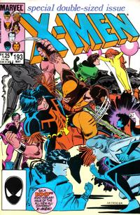 Cover Thumbnail for The Uncanny X-Men (Marvel, 1981 series) #193