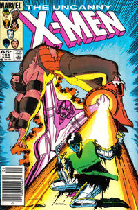 Cover Thumbnail for The Uncanny X-Men (Marvel, 1981 series) #194 [Newsstand]