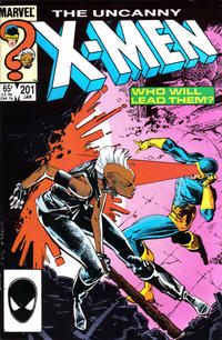 Cover Thumbnail for The Uncanny X-Men (Marvel, 1981 series) #201 [Direct]